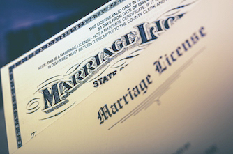 Florida Marriage License preparation